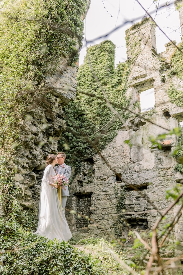 castle ruin wedding