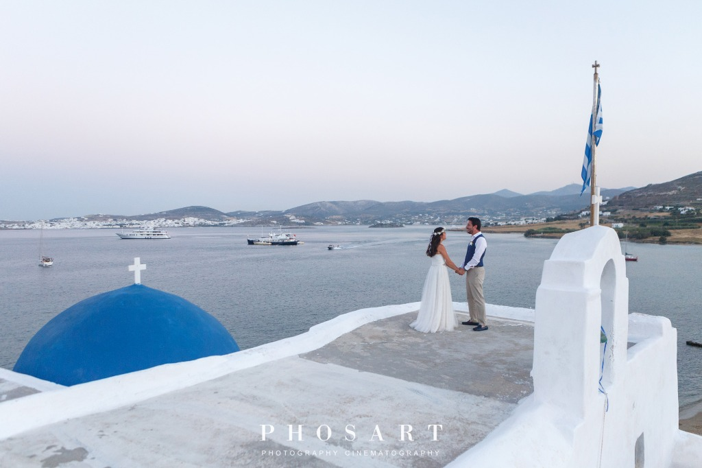 Couple Photo Shooting After Wedding in Paros!