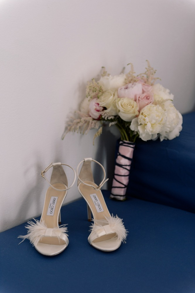 Bridal Shoes Inspiration and Pink Bridal Bouquet!