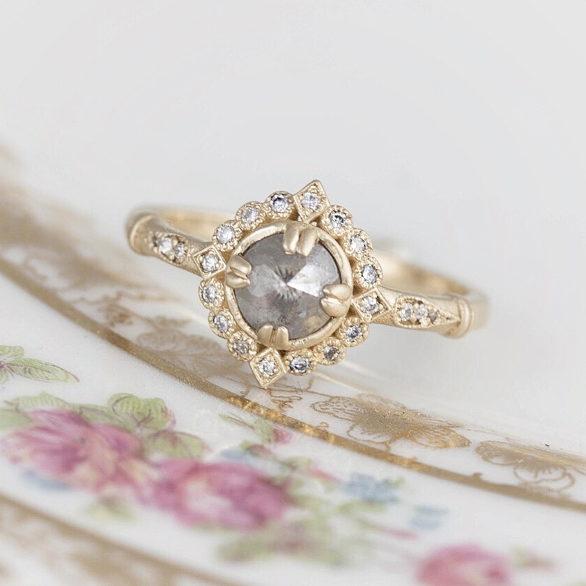 To try & find a unique engagement ring can be tough, there are so many different settings, diamond shapes & colors that it