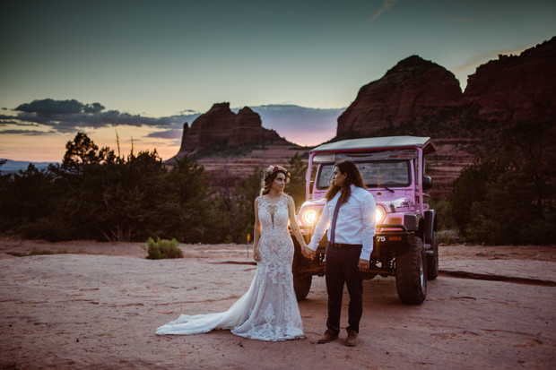 anniversary elopement in Arizona
