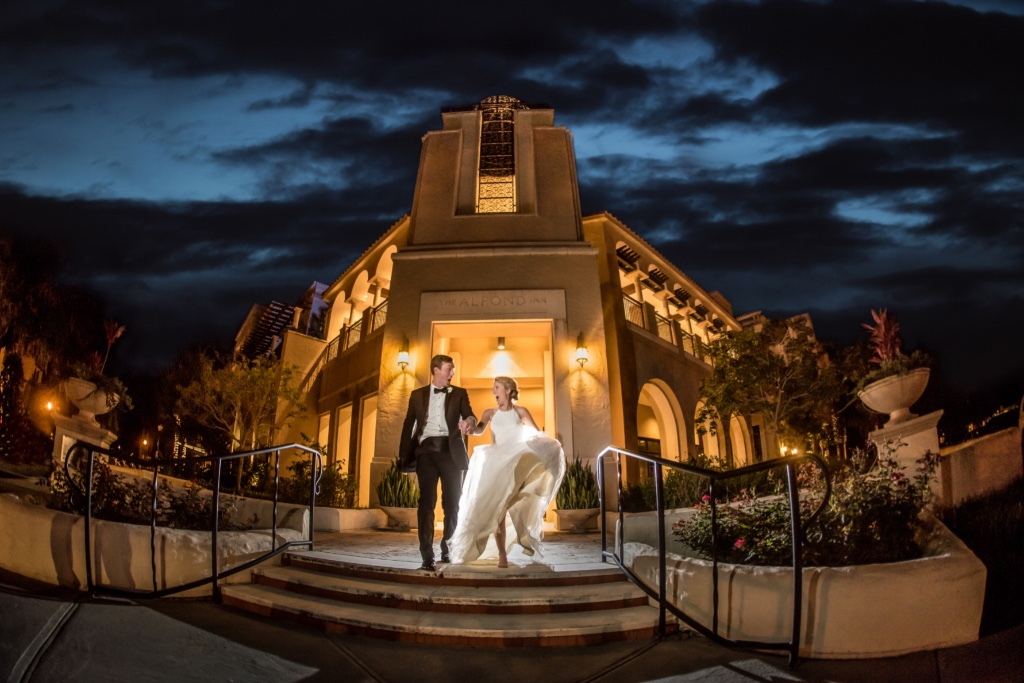 Hannah and James wedding at the classic Alfond Inn will take your breath away! Don't miss seeing more images and details from their