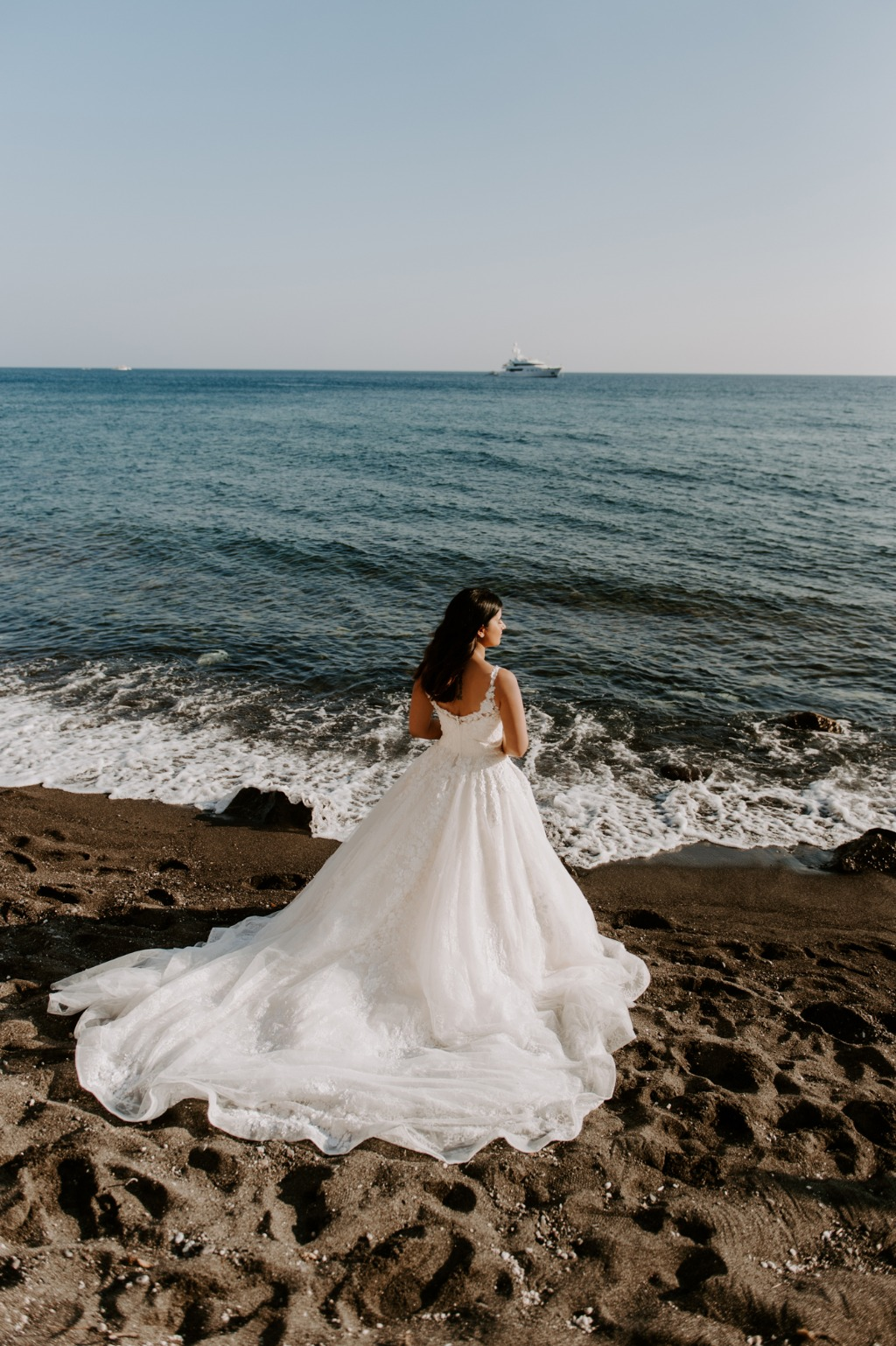 Bridal Portrait, Santorini, Greece!