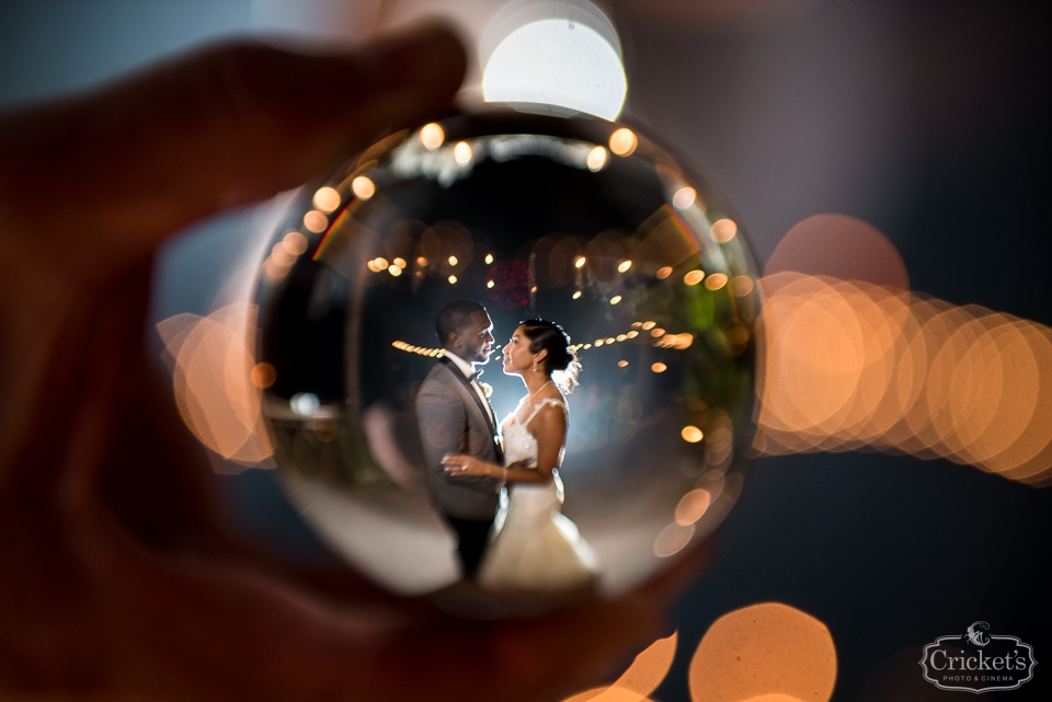 Thinking outside the box and inside the ball for this fun photo. Click the link to see more amazing photos from their Florida lakeside