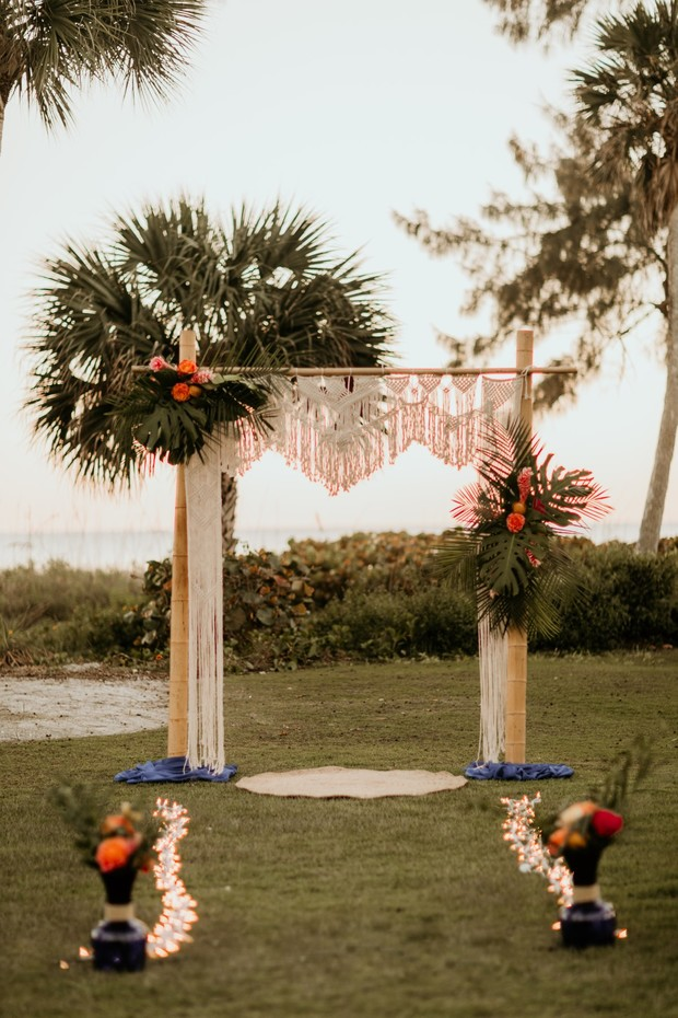 The Perfect Summertime Sunset Wedding Ideas In Florida