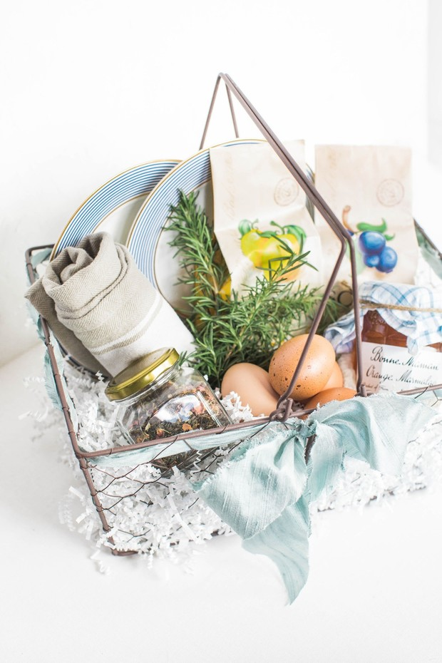 farm fresh guest basket