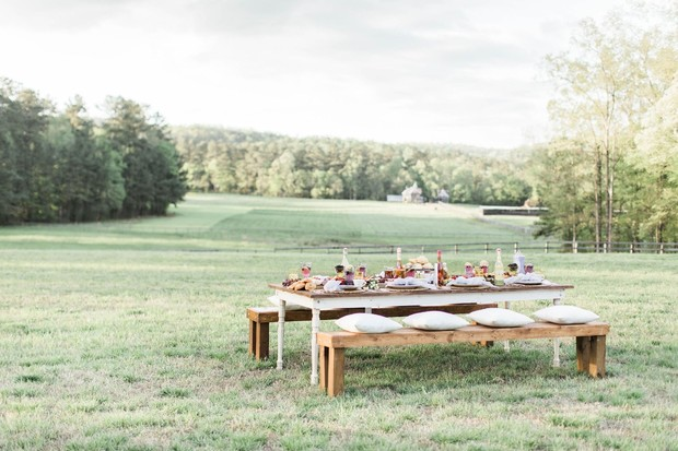 simple and sweet farm wedding day ideas