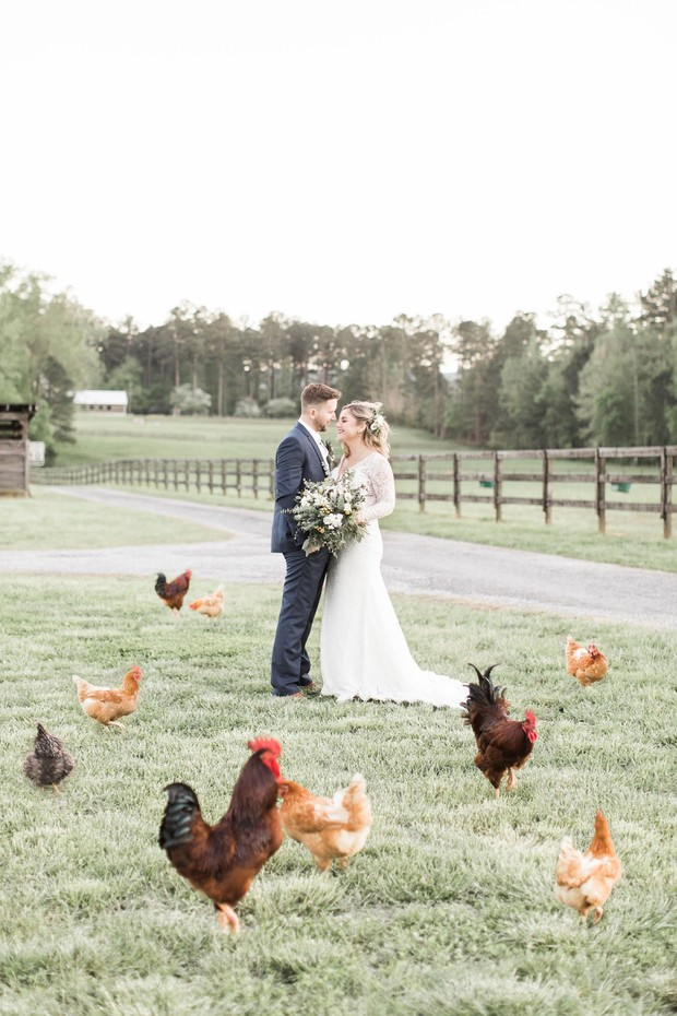 Give Your Big Day That Intimate Farm Fresh Feeling