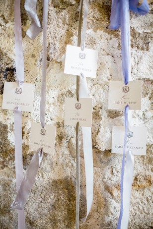 hanging seating chart for wedding