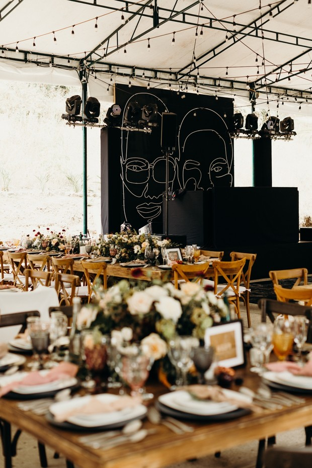 fun modern wedding in Mexico