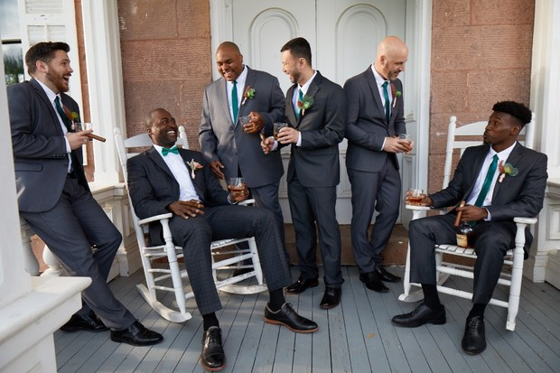 How to Come Full Circle With Your Crew Right Before You Say I Do
