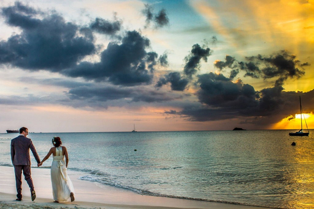 Destination Wedding at Sandals Antigua.