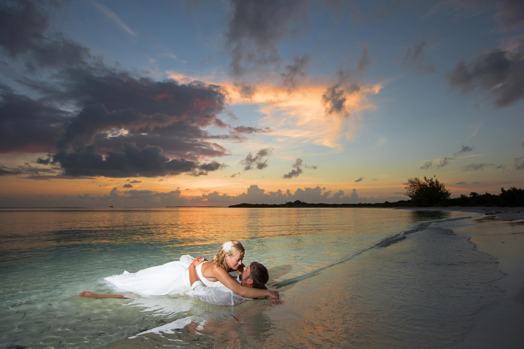 VIP Vacations Destination Wedding and Trash the Dress at Beaches Turks and Caicos Resort