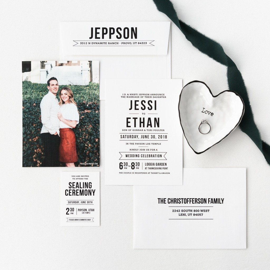 We help brides design & print darling wedding invitations! Let us make the invitation set of your dreams....and at an affordable