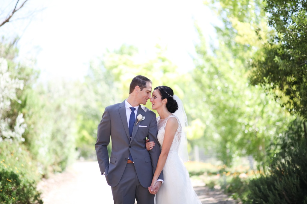 Intimate and lovely wedding at a family property in Solvang, CA.