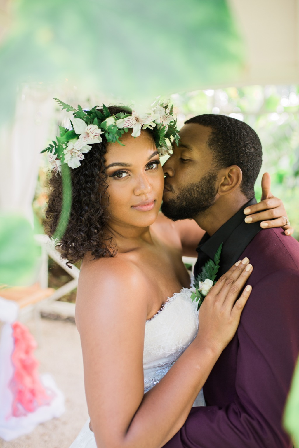 Beautiful wedding Portaits in Hawaii!