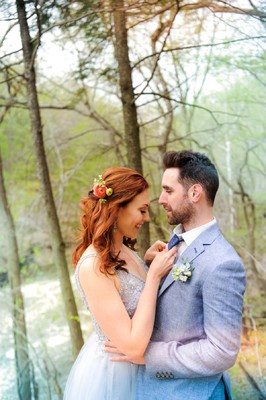 How to Style a Modern Day Bride and Groom