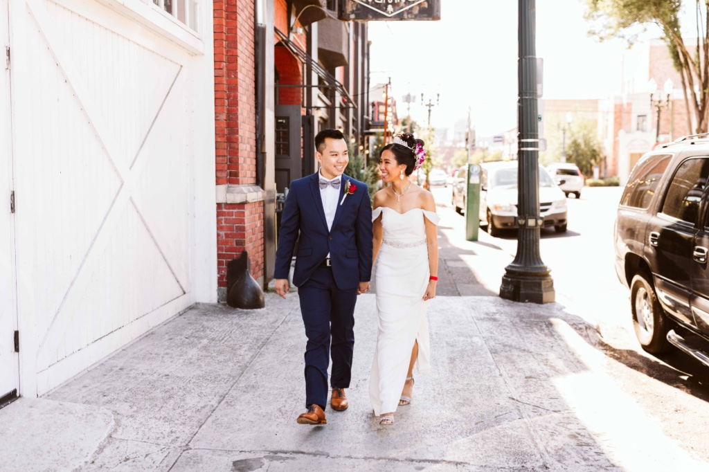 Khoa + Stephany's Downtown Portland Cambodian Wedding Weekend