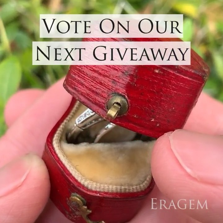 Please vote on which ring we give away next. Tag the person who you would like to receive a ring from or give a ring to and then type