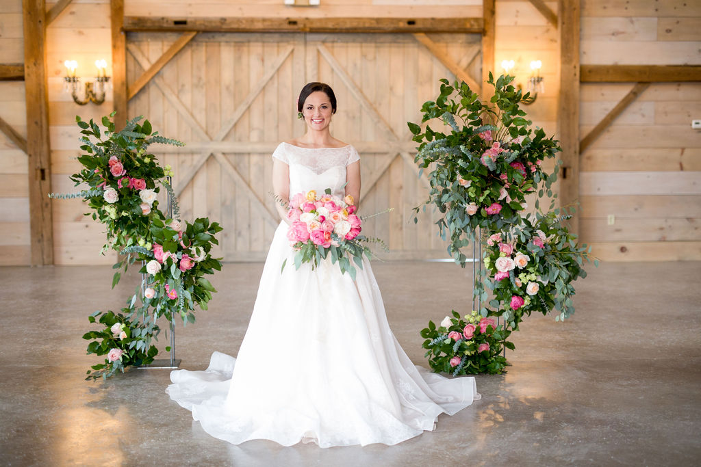 Romantic + Rustic Equestrian Inspired Wedding Editorial | gown: Lea-Ann Belter Bridal Astrid | photographer: Tracey Buyce Photography