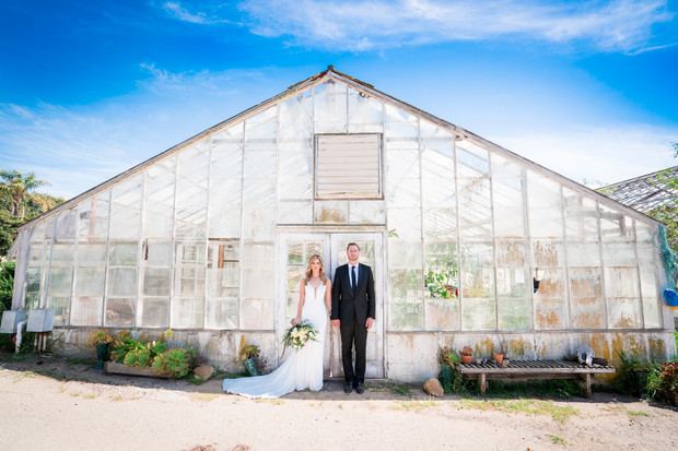 say i do at a greenhouse