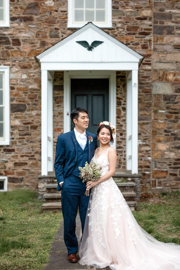 RL couple styled elopement