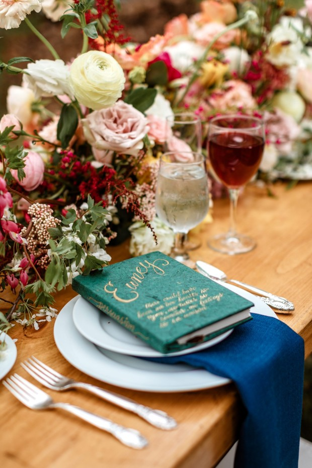 Jane Austen inspired wedding