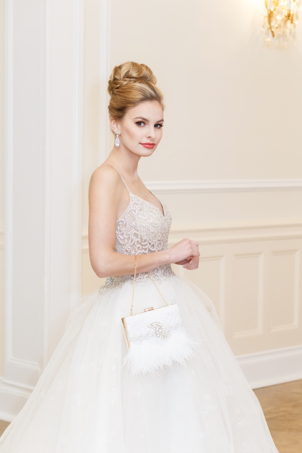 Unique and one of a kind bridal clutches