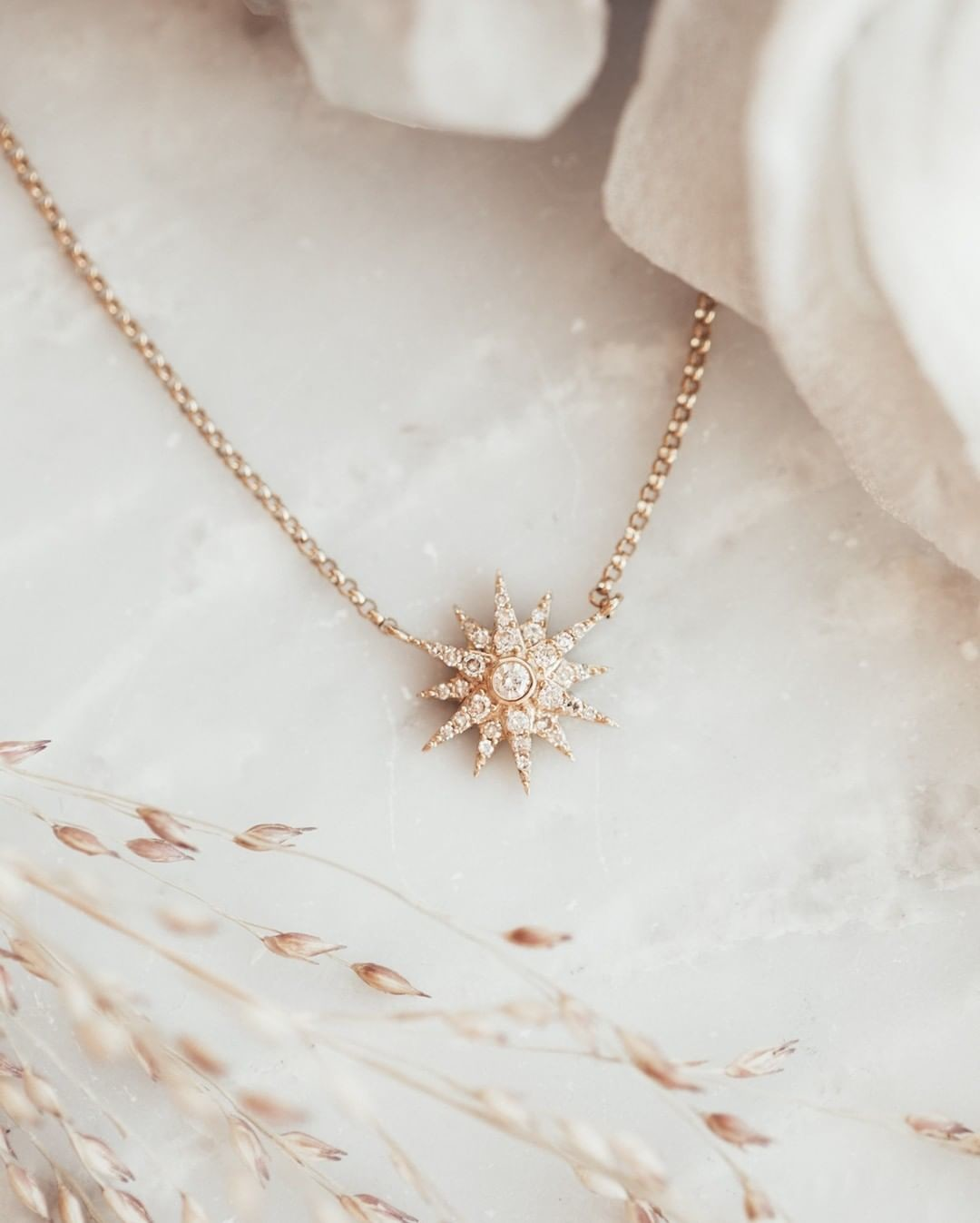 We have so many dainty pave diamond necklaces in store & online now! Perfect to wear every single day.