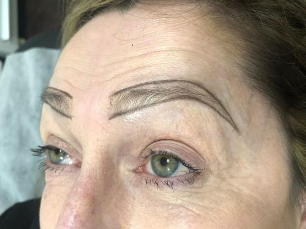 microblading before and after photos