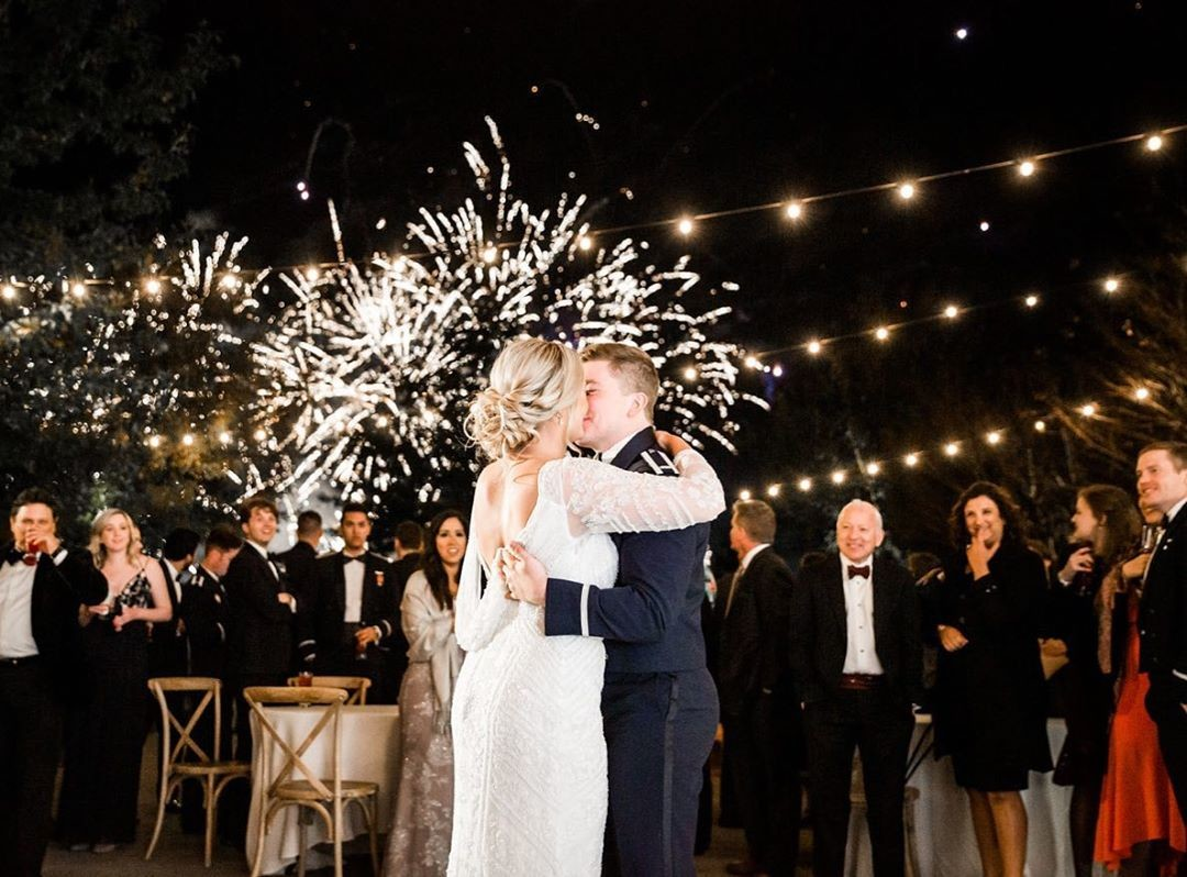 Fireworks on the 4th are the perfect pairing...just like Max & Peyton. They celebrated their first dance with fireworks as their