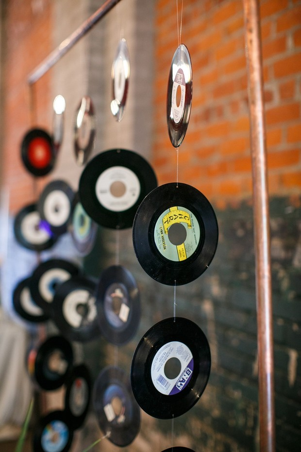 wedding record decor