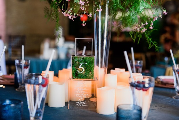 unique wedding table number idea