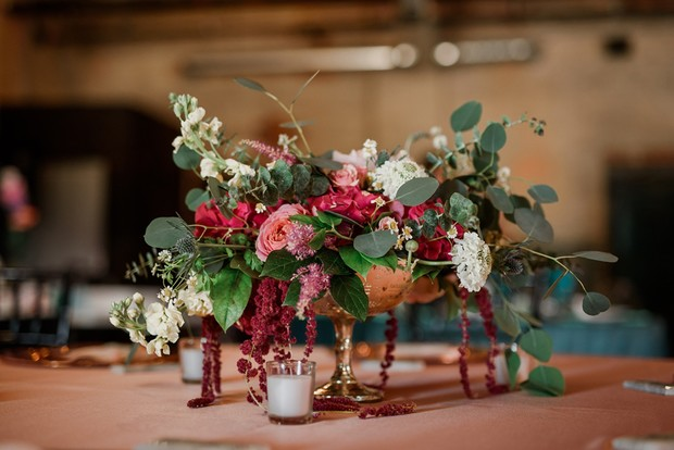 chic wedding floral decor