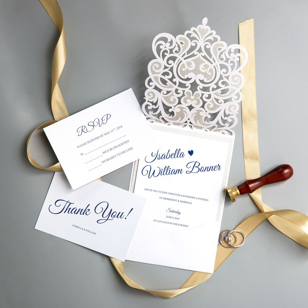 This simple-styled invitation is perfect for any situation and is certain to impress all your guests no matter what time of year.
