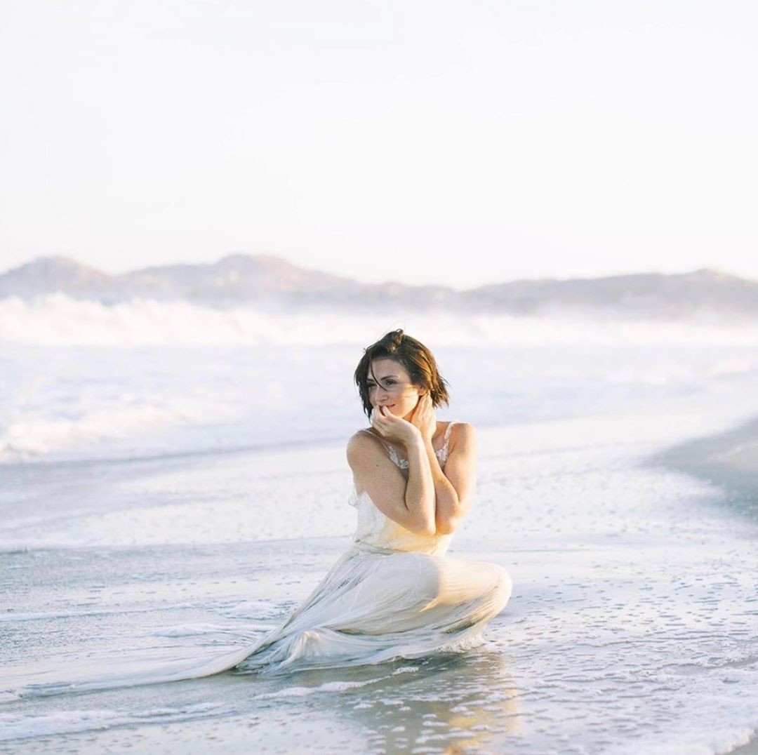 Beachy dreams and our Ophelia dress. Photographer: @rachel.fugate
