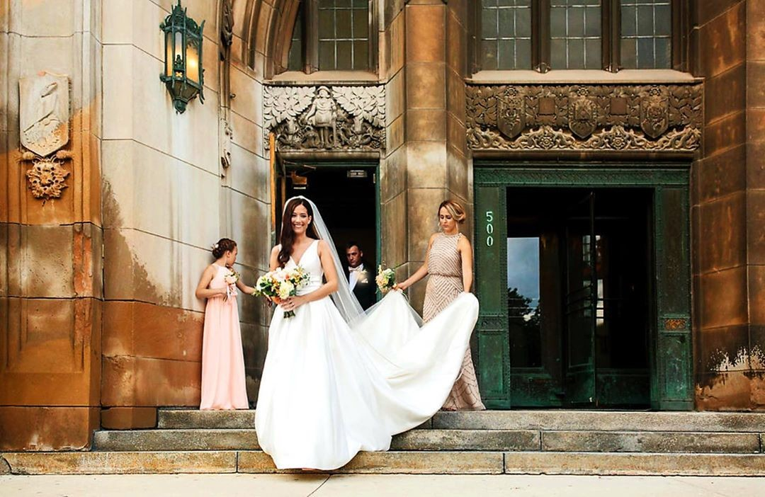 How stunning is our bride Adrienne in her