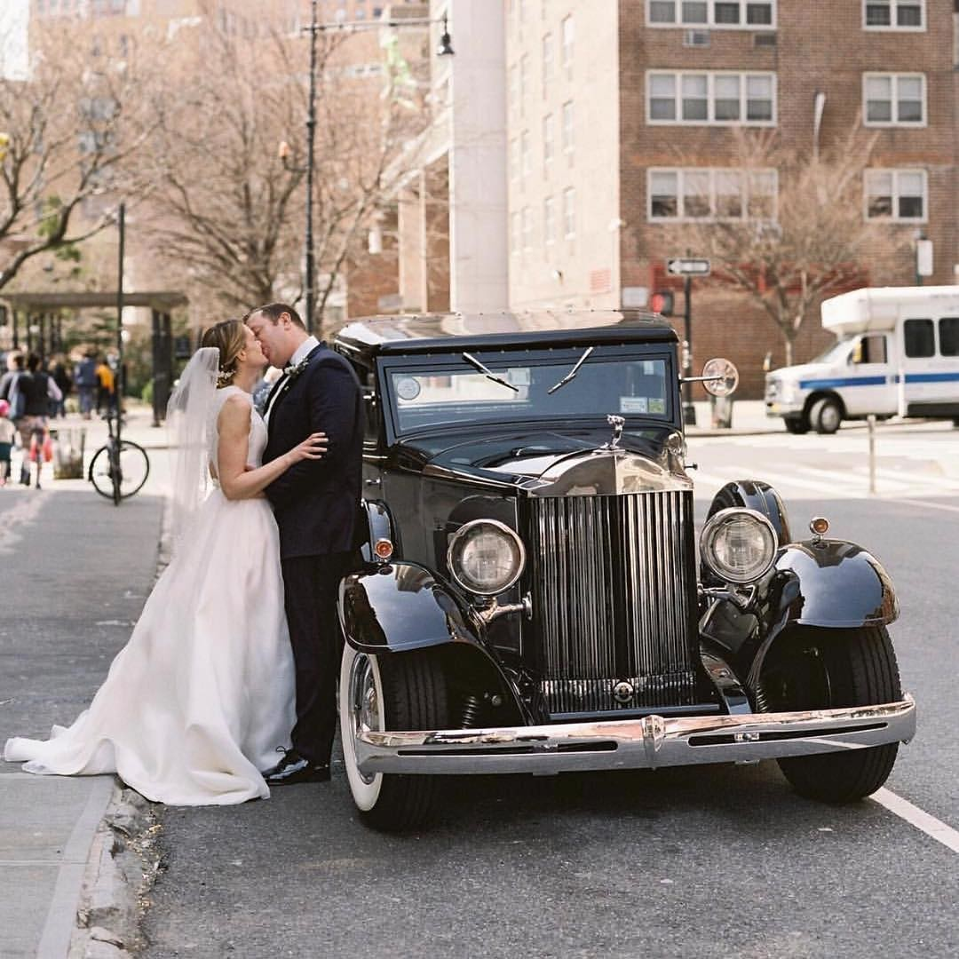 A classic New York moment for our dear friend and recent bride, Christina. Photo by