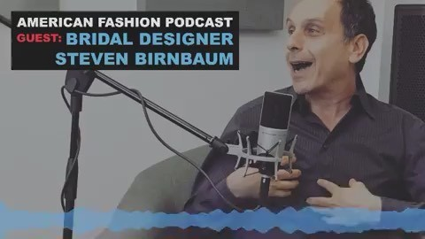 A sneak peek of Steven on the @americanfashionshow podcast