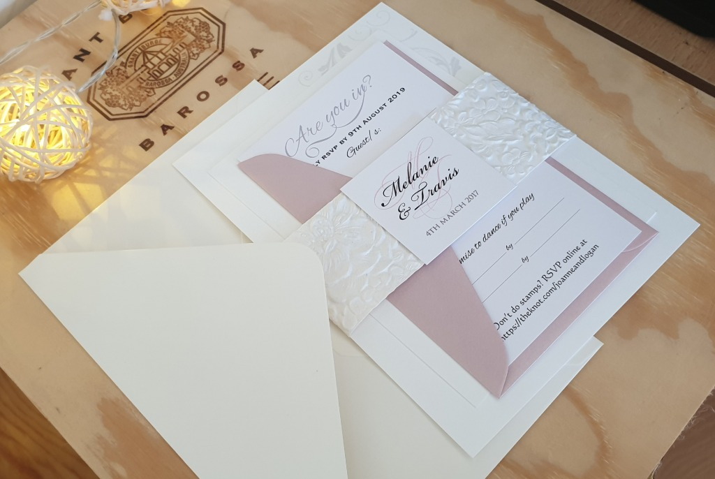 3 in one wedding set! Wedding invitation 5x7 + reply card and RSVP envelope + wishing well OR info card
