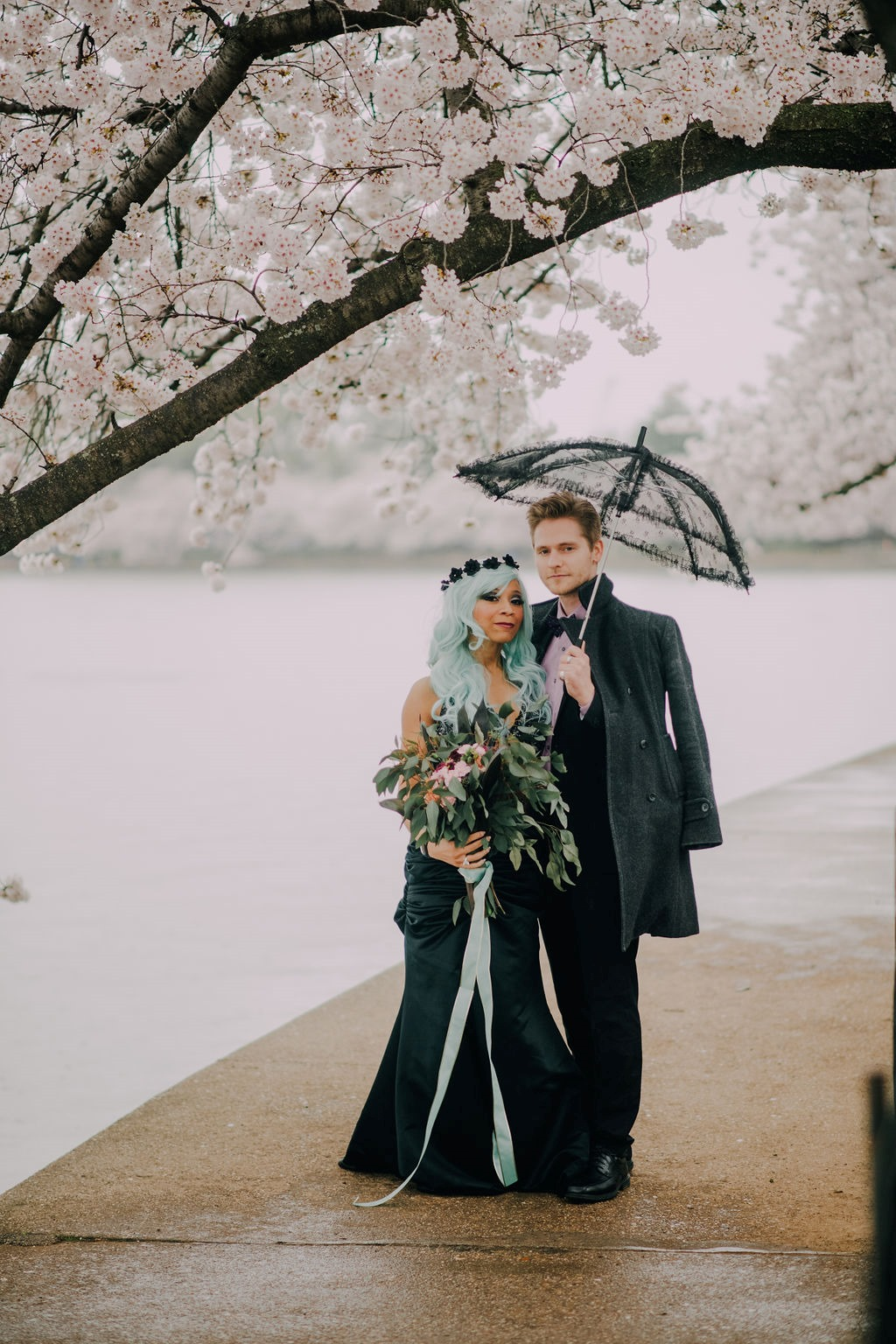 There is something about having an off beat wedding! Different seasons can add a different flair. This couple chose to marry in the