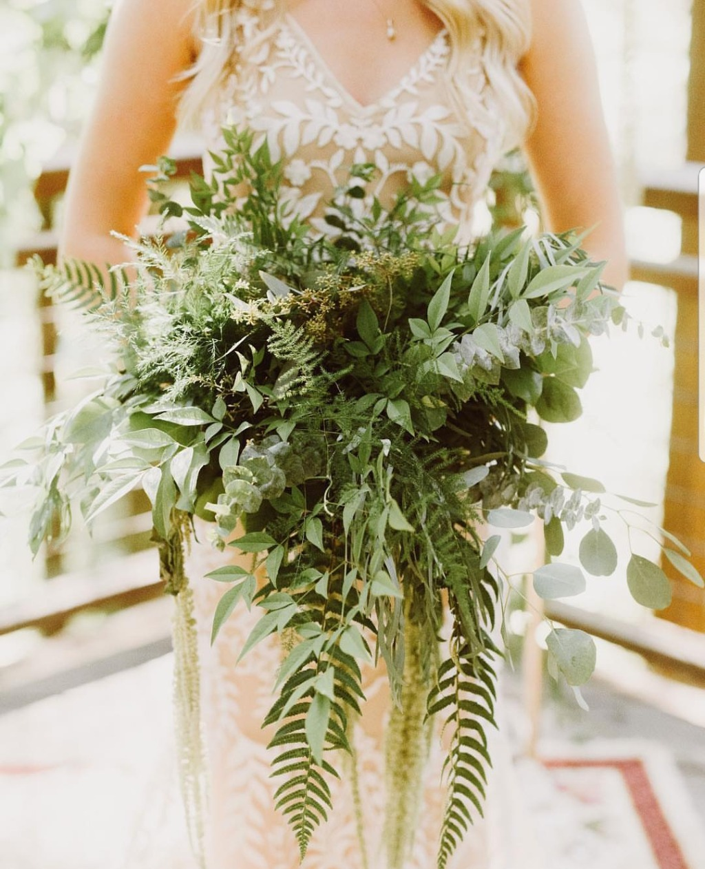 Texture and greenery can be absolutely stunning!