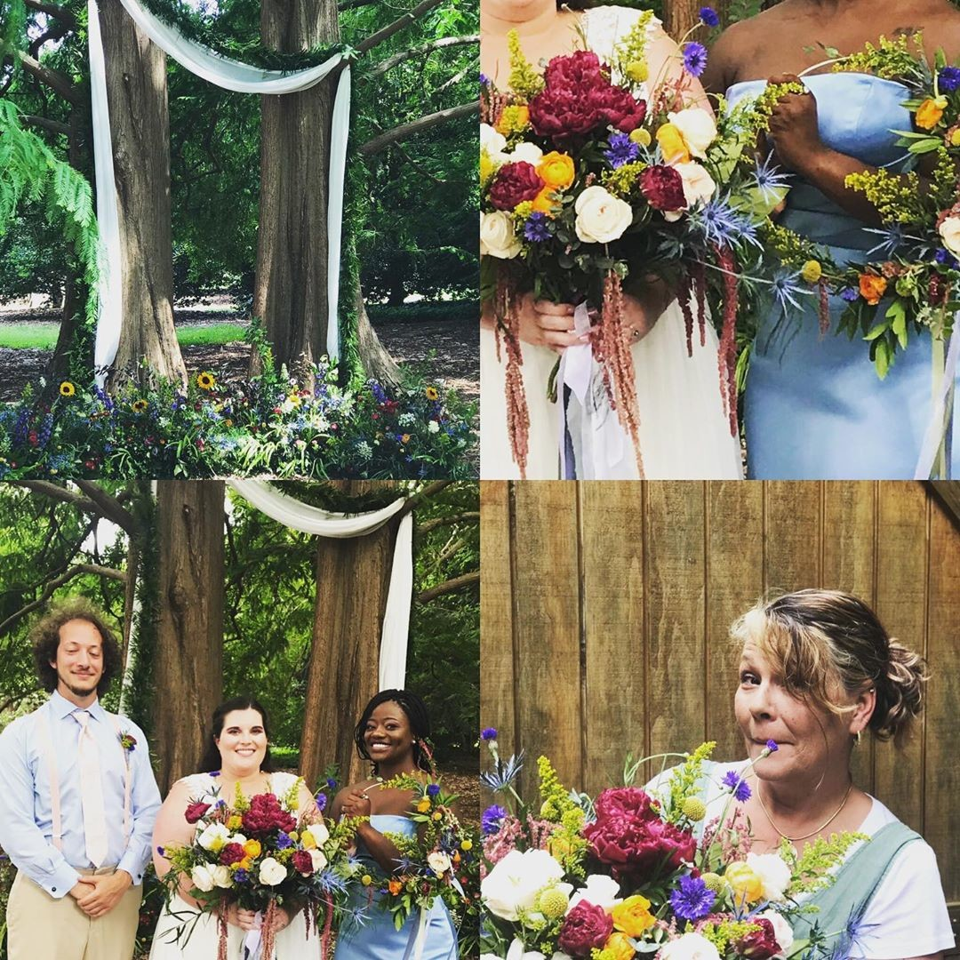 We worked with Norfolk Botanical Gardens on a styled shoot yesterday. It was amazing-the team was fantastic! I can't wait to get