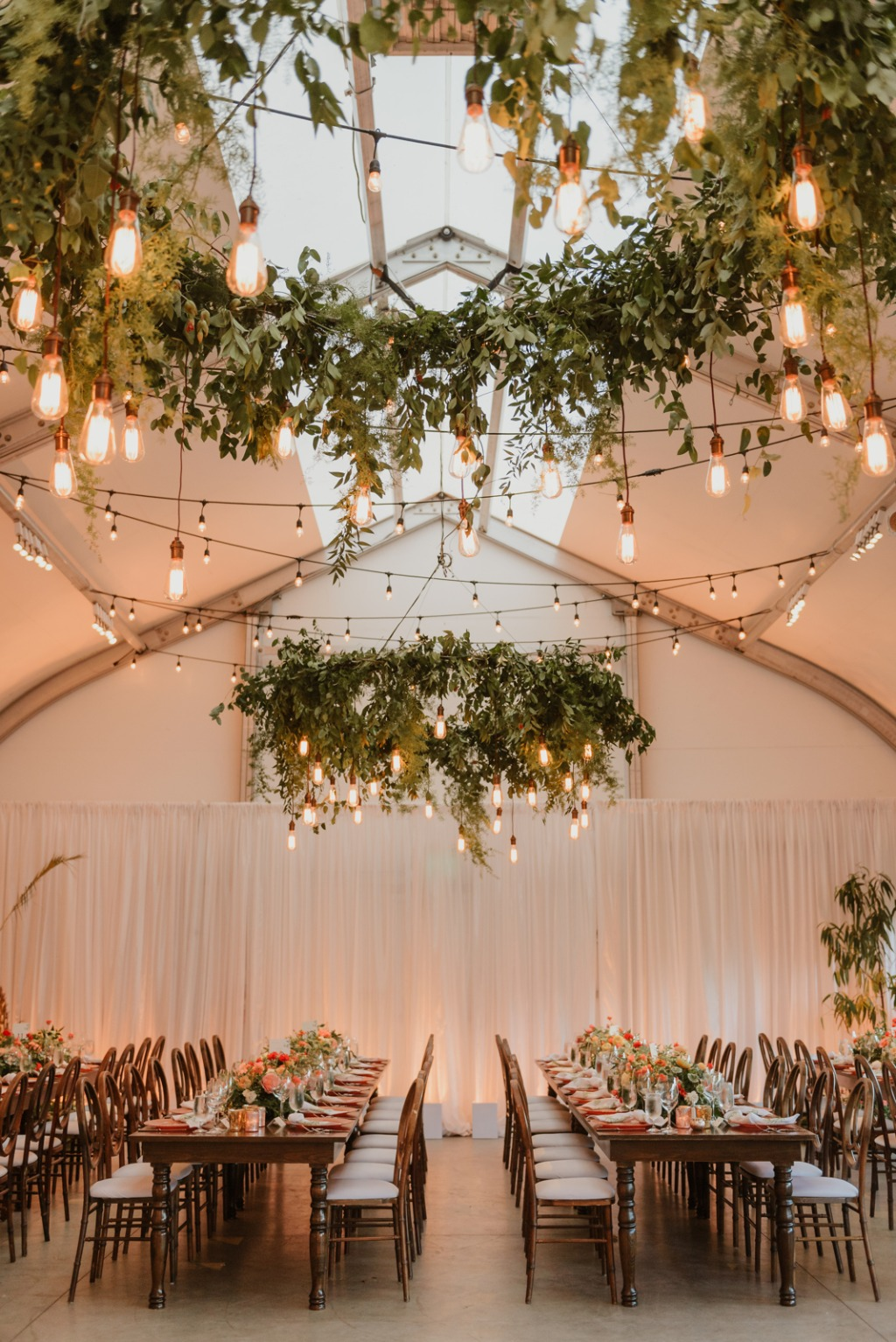 A Garden Party inspired wedding at the San Francisco Conservatory of Flowers