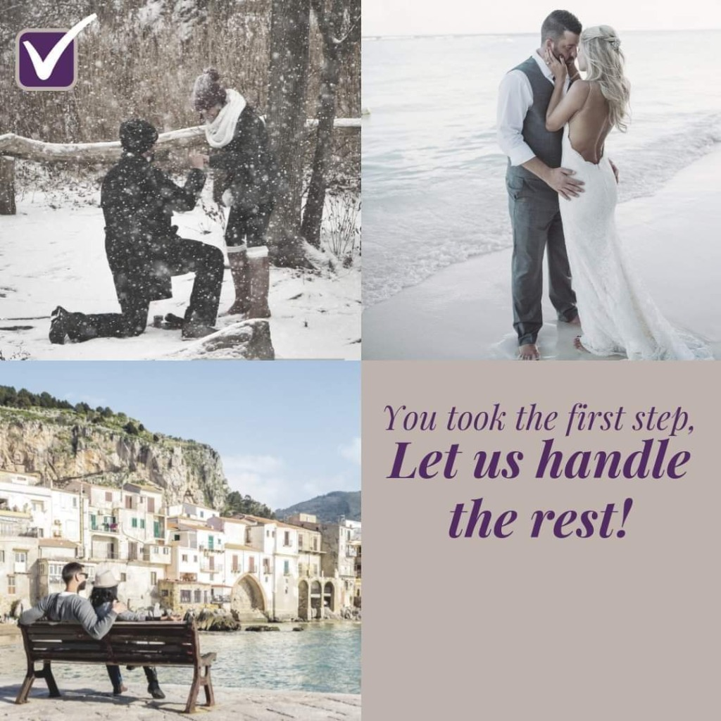 Whether exploring Europe or discovering Disney, let Travel Agent help send you on the honeymoon of your dreams! (Can plan worldwide