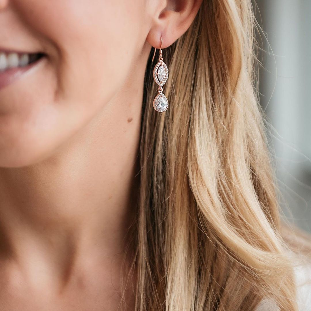 Classy, beautiful bridal & bridesmaid jewelry under $100. Shop the full collection at graceandhudson.com and take 20% off your