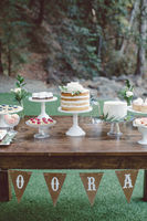 Natural and Rustic Forest Wedding