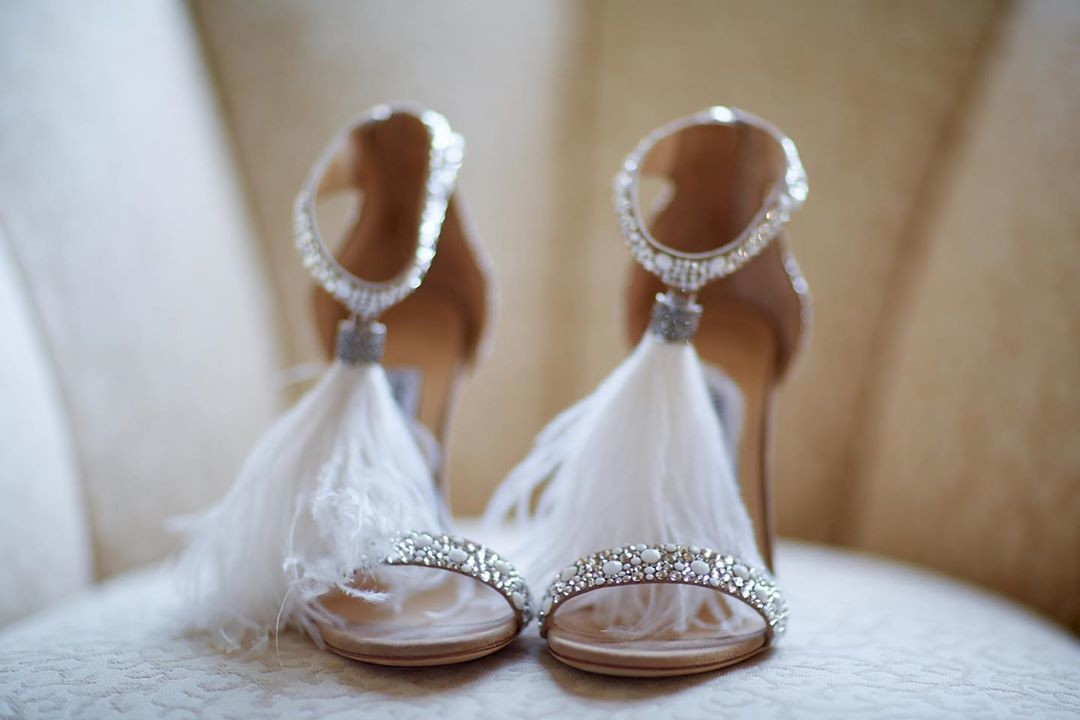 """Definitely ready to say """"I do"""" in these fab @jimmychoo ✨ photo"""