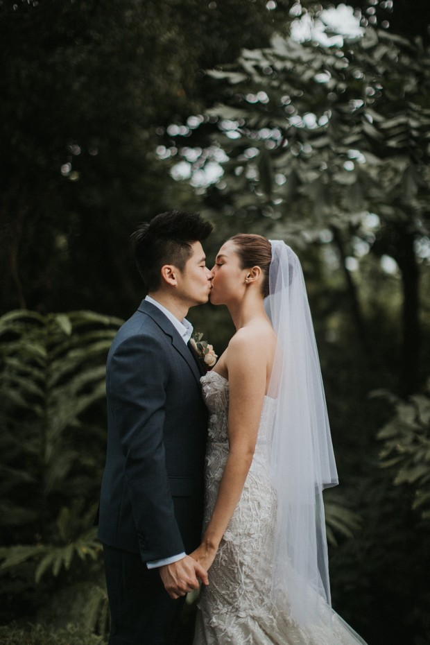 Modern luxury wedding in Singapore