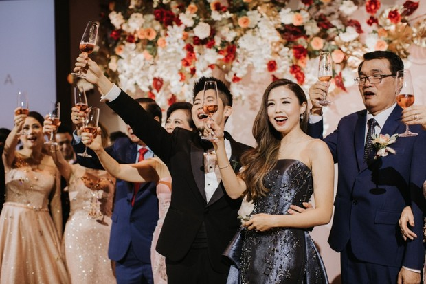 Luxury wedding in Singapore
